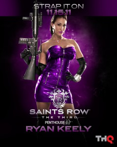 Ryan Keely representing Saints Row the Third
