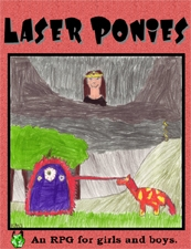 QAGS System Game - Laser Ponies