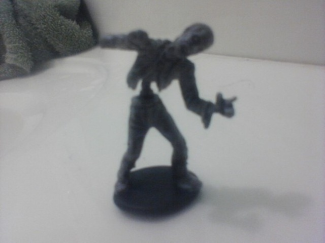 Zombie Miniature Too